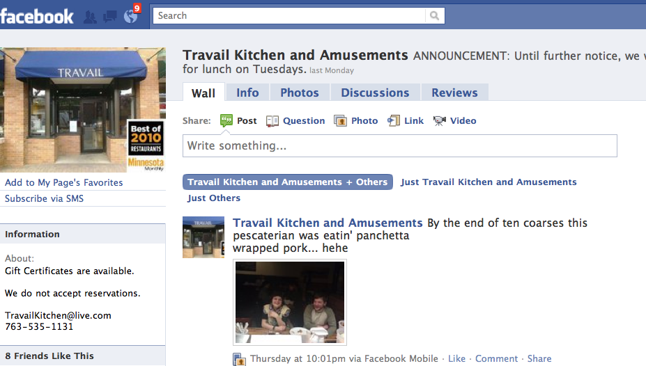 web facebook