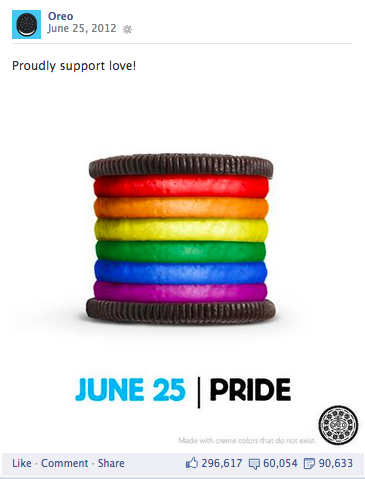 Oreo Gay Pride