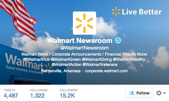 walmart newsroom twitter