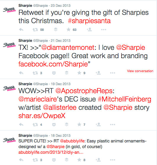 Sharpie Twitter