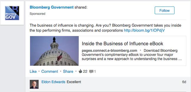 LinkedIn sponsored 1