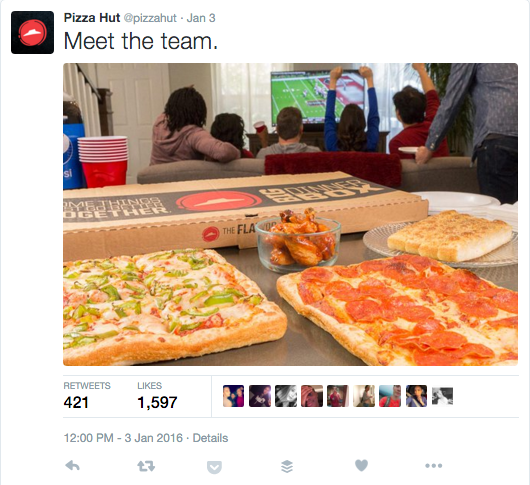 Pizza Hut Twitter