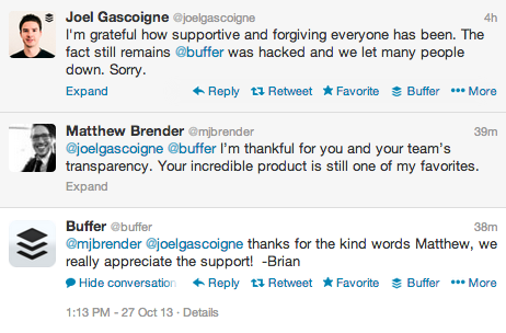 Buffer apology tweet1