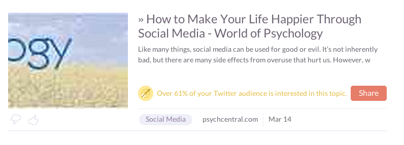 Klout Post 2